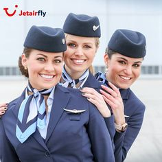 """Me and my girlssssss ✈️✈️✈️ #cabincrew #jetair #jetairfly #fly #aviation #wings #smile "" Photo taken by @gaellescheffer on Instagram, pinned via the InstaPin iOS App! http://www.instapinapp.com (04/27/2015)"