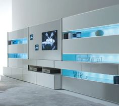 contempoary wall units - Google Search