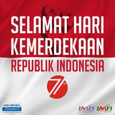 Selamat Hari Kemerdekaan RI ke-71.  Perjuangan para pahlawan telah usai, kini saatnya anak-anak bangsa berjuang dengan karya-karya indah untuk membangun negeri tercinta, Indonesia..    Kobarkan terus semangat 45! #indonesia #harikemerdekaanri #harikemerdekaanindonesia #harikemerdekaanindonesia71 #harikemerdekaan #perjuangan #berjuang #merdeka #Indomobil #IndomobilFinanace #IMFI #generasimuda #generasimudaindonesia #generasimudaberkarya #pembangunan #karya #anakbangsa #anakbangsaindonesi
