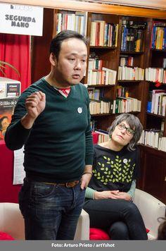 Hablamos de libros - En Librería Letras - Con Yoshi Hioki y Mon Más - 6 de marzo Fotografía: Arturo Prieto / artYshot