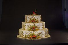 Fall Wedding Cake by Karen Portaleo for Highland Bakery, via Flickr