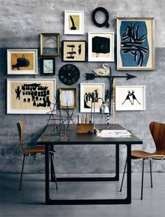 Industrial decor style is perfect for any interior. An industrial dinning room is always a good idea. See more excellent decor tips here: http://www.pinterest.com/vintageinstyle/
