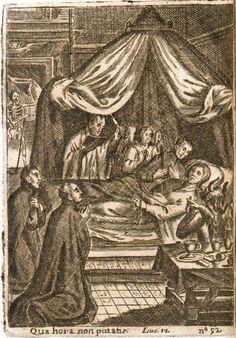 """Sebastián Izquierdo """"Práctica de los Ejercicios Espirituales"""" (Roma, 1665) - Ejercicio III. De la muerte"""