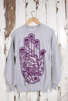 Hand Sweatshirt from Me & Yu, Afflecks Palace, Manchester
