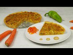 Κις λορέν λαχανικών (Quiche Lorraine)   Foodaholics - YouTube