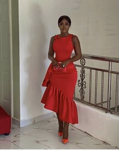 Short African Dresses, Latest African Fashion Dresses, African Print Dresses, African Print Fashion, Girly Outfits, Chic Outfits, Lace Gown Styles, African Attire, Classy Dress