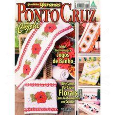 Revista Ponto Cruz & Crochê Ed. Liberato nº169 - Bazar Horizonte