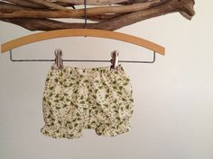 Girls bloomer shorts - Olive Sprouts.