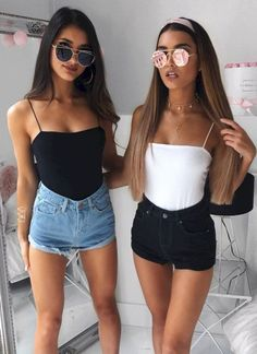47 Cute Summer Outfits Ideas To Wear in The Hot Weather . , For More Fashion Visit Our Website cute summer outfits, cute summer outfits outfit ideas,casual outfits 47 Cute. Late Summer Outfits, Spring Outfits, Summer Wear, Style Summer, Dress Summer, Summer Outfit For Teen Girls, Spring Clothes, This Summer, Summer Shorts