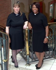 Knee Length Clergy Dress elegant alternative to the clergy shirt