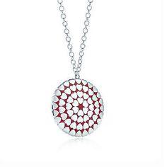 Tiffany Pendants Paloma`s Crown Of Hearts Pendant