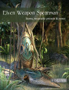Elven Weapon Spearman