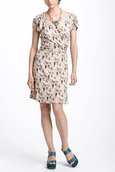 SOLD- Anthro group------ Up & Away Mini Dress - anthropologie.com (hot air balloons!!), size L (has lots of stretch, too).