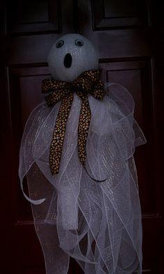 My Halloween door decoration!