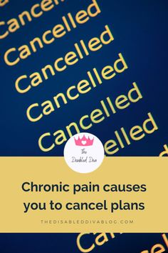 If chronic pain causes you to cancel plans more than allow you to keep them, it may be time to adjust your pain management plan. Autoimmune arthritis, fibromyalgia, psoriasis, and other chronic illness pain treatments need adjusting as conditions progress or other health issues join the party. Read my blog post to discover 9 more reasons.