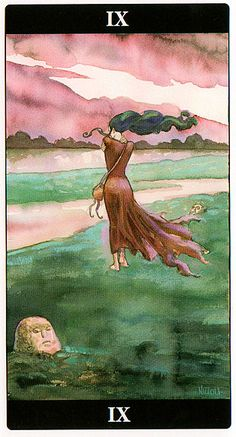 The Hermit - Tarot of the Dream Enchantress