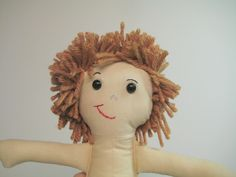 How To: Yarn Doll Hair Short Style
