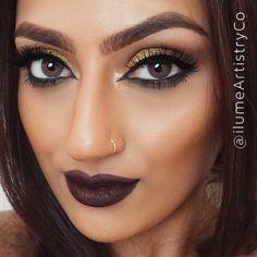 Fall makeup 2015 trend Kat Von D liquid lipstick - Damned