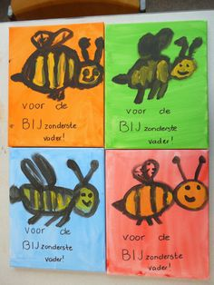 schilderijtje, groep 3 en 4, 2014 Art For Kids, Crafts For Kids, Arts And Crafts, Fall Crafts, Diy Crafts, Family Presents, Work Gifts, Dollar Tree Crafts, Child Love