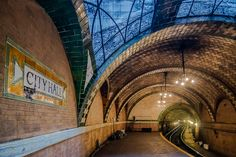 Old City Hall Subway Station, New York City by Noel Y. C. - NYC♥NYC.