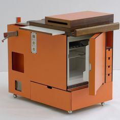 Campaign Furniture, Plastic Injection Molding, Remodeled Campers, Smart Design, Black Kitchens, Furnitures, Museums, Space Saving, Product Design