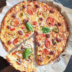 Cottage Cheese, Pepperoni, Lchf, Vegetable Pizza, Quiche, Low Carb, Vegetables, Breakfast, Desserts