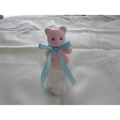 Baby Shower Favours/ Gifts - Bottle Teddies! for R12.00 Baby Shower Favours, Teddy Bear, Bottle, Toys, Gifts, Animals, Presents, Animales, Animaux