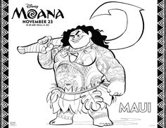 MOANA Printable Coloring and Activity Pages, disney moana, moana coloring sheets, moana activity sheets, moana free printables, disney's moana