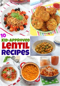 10 Kid-Approved Lentil Recipes 10 Delicious & Healthy Lentil Recipes That Kids Will Actually Eat! 10 Kid-Approved Lentil Recipes 10 Delicious & Healthy Lentil Recipes That Kids Will Actually Eat! Healthy Foods To Eat, Easy Healthy Recipes, Baby Food Recipes, Healthy Eating, Cooking Recipes, Kid Recipes, Easy Lentil Recipes, Toddler Recipes, Healthy Lunches