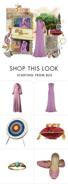 """Maid Marian"" by savagedamsel ❤ liked on Polyvore featuring Elie Saab and House of Harlow 1960"