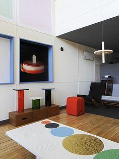 Pierre Charpin à l'Appartement N° 50 Cité Radieuse / Unité d'habitation Le Corbusier