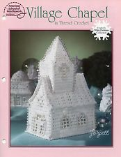 Village Chapel, White Christmas Collection crochet pattern
