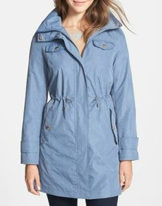 Beautiful sky blue anorak