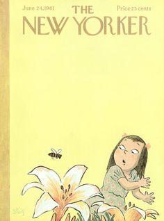 William Steig : Cover art for The New Yorker 1897 - 24 June 1961