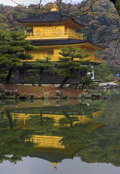 Kinkakuji (Golden Pavilion), Kyoto, Japan