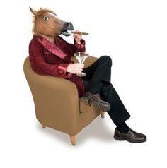 Horse Head Mask Rubber Horse Head Fancy Dress Party Costume Brown Animal New #HorseHeadMaskUK #Facemask