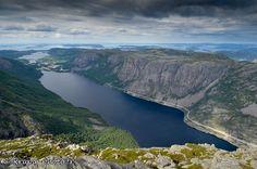 Vue depuis le Reinaknuten (Norvège) (from Krupa photographies - Galeries) #Norway #fjord #norvege #landscape Land Scape, Landscape Photography, Around The Worlds, River, Pictures, Outdoor, Galleries, Photographs, Photos
