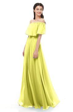 582139abd5 ColsBM Hana - Pale Yellow Bridesmaid Dresses