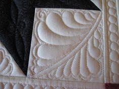 Threads on the floor: Star quilt progress