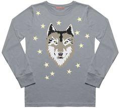 Dandy Star Wolf T-Shirt