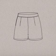 Image of aime comme Manège - Short taille haute