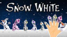 Finger Family Song of Snow White || Finger Family Nursery Rhymes for Kids
