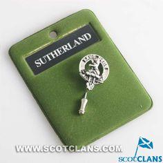 Sutherland Clan Crest Pin: