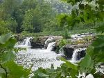 Sandstone Falls, New River Gorge National River, West Virginia WOW what a view . New River Gorge, Outdoor Furniture Sets, Outdoor Decor, Park Service, Fall Photos, West Virginia, Golf Courses, Photo Galleries, National Parks