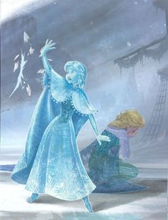 I liked how Anna saved Elsa, depicting true love. I also like the emotional aspect to this as Elsa is seen crying, ashamed of what she's done.more true love. Disney Films, Disney And Dreamworks, Disney Pixar, Walt Disney, Disney Characters, Disney Princesses, Disney Love, Disney Magic, Disney Art