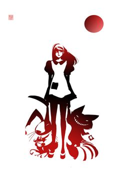 Alice in Wonderland - Illustrations by Sho Murase