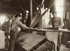 1908 working on the saw mill