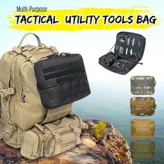 Ic/id Card Delicious Us Shipment Nylon Airsoft Tactical Military Modular Small Utility Pouch Edc Bag Waterproof Bagged Open Gear Tools Pouch Case