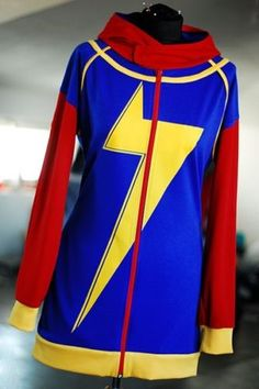 Kamala Khan MS Marvel OOAK Hoodie Dress M Size | eBay
