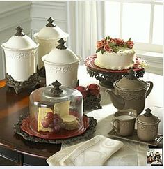 Chris Madden Collection - Life and Linda & chris madden felice plates - Bing Images | Tablescapes | Pinterest ...